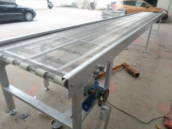 網帶輸送機擋板網帶輸送機廠家直銷 水平直線輸送