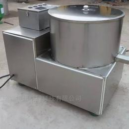 TSJ500不锈钢果蔬清洗脱水机 油炸后脱油设备
