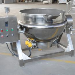 SZ100L供应电加热导热油可倾式夹层锅食品蒸煮锅