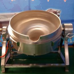 50L燃气立式夹层锅 不锈钢蒸煮锅