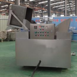 SZ760花生蚕豆油炸锅 电加热自动出料油炸机