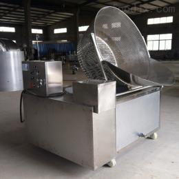 YZ1000电加热半自动油炸机 红薯干油炸设备