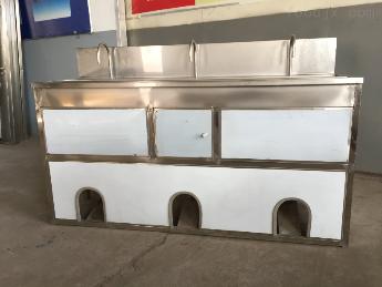全密封式洗手消毒槽不锈钢全密封式洗手消毒槽