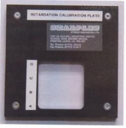 S-75玻璃边缘应力仪专用校准片