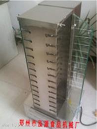 立式SK26鄭州商用自動翻轉無煙立式燒烤機