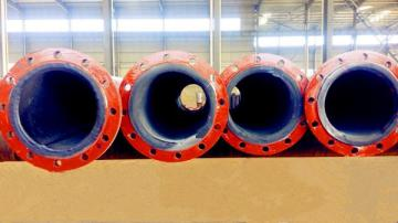 DN630浙江碳鋼襯膠管道