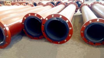 DN50-DN1020河南有那些焦化廠脫硫管道 耐磨襯膠管道