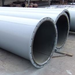 DN50-DN1020mm河南縱橫襯膠鋼管防腐 硫化管道