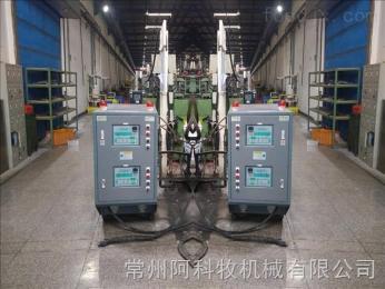11-16廣東東莞惠州碳纖維熱壓成型導熱油爐 輥筒配套模溫機