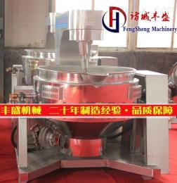 FS全自動炒菜機價格 中央廚房生產線 電磁加熱行星攪拌炒鍋