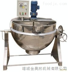 电加热汤料熬制夹层锅    可倾式电加热夹层锅    汤料熬制夹层锅设备
