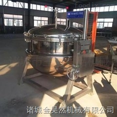 不锈钢蒸汽加热蒸煮锅   肉食品专用蒸煮锅