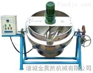 電加熱醬料炒制攪拌夾層鍋  不銹鋼電加熱攪拌夾層鍋