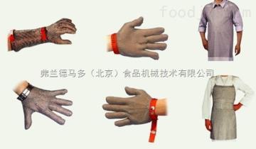 大中小三个型号不锈钢手套