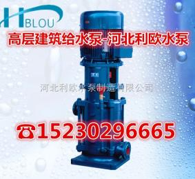 32DL5-10*4利欧立式多级泵32DL5-10*4管道循环泵消防喷淋泵热水锅炉给水泵清水离心泵增压泵