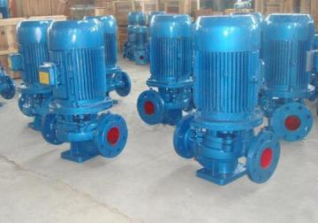 ISG100-200立式小区供水管道离心泵热水流程泵锅炉泵ISG100-200地热暖气工业增压泵4KW