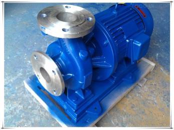 ISW50-160-3卧式直联管道泵ISW50-160-3管道循环增压泵热水流程泵清水离心泵