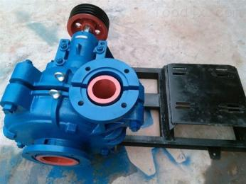 6/4E-AHHH分數襯膠渣漿泵6/4E-AH臥式煤炭尾礦泵精粉泵耐磨挖泥漿砂礫泵