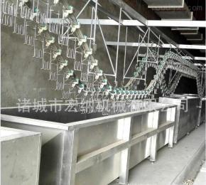 HN4000【专业生产】大型家禽屠宰场 全自动杀鸡屠宰设备流水线