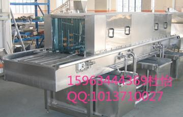 XK-4米洗筐机  塑料筐清洗消毒机 隧道式周转箱清洗机