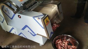 QK-200凍肉切塊機家禽帶骨切塊機