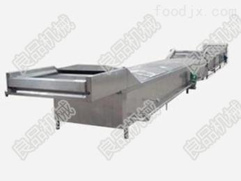 LPPT-1000丸子蒸煮油炸冷却流水线