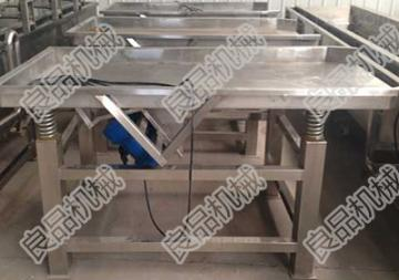 LPZD-600蔬菜振动筛性能