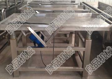 LPZD-600蔬菜振动筛结构