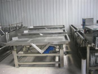 LPZD-1000果蔬振动筛 果蔬沥水机