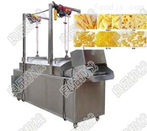 LPYZ-1000油炸达仔鱼生产线全304不锈钢制作环保