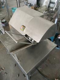 LPPB-600手推式猪蹄劈半机 生猪蹄 熟猪蹄劈半设备