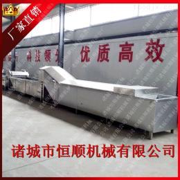 8000恒顺机械提供牛奶包装巴氏杀菌流水线 蔬菜漂烫杀青流水线