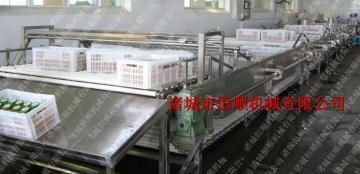 9000恒顺机械 提供牛奶包装巴氏杀菌流水线 蔬菜漂烫杀青流水线