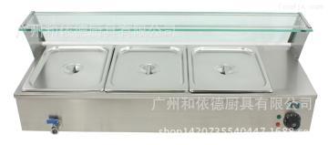 BM-3三盆电热保温汤池 台式汤池 暖汤炉 暖汤盆 电保温箱 保暖箱