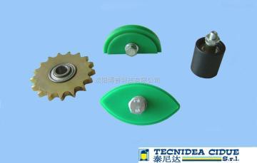 泰尼达张紧轮附件张紧轮附件,皮带链条张紧器,橡胶弹簧,振动筛减振缓冲