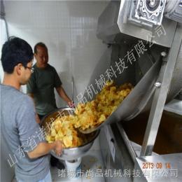 SPBD-1200小型薯片薯條油炸生產線
