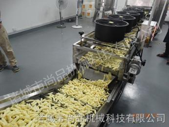 SPDZ-8000專業生產薯片薯條油炸生產線廠家