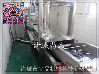 SPDZ-8000樂百氏紫薯條紫薯片油炸生產線