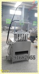 PB-1质量好价格低进口猪蹄劈半机