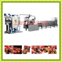 300型黑糖話梅生產線/黑糖話梅生產設備/糖果澆注生產線/糖果機
