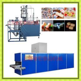 300型大型夹心奶糖设备/奶糖冲模设备/夹心奶糖生产线/夹心奶糖浇注机