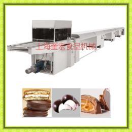 600型巧克力凃淋机器/巧克力自动涂层机/巧克力糖衣机/巧克力挂浆机