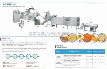 LAMH70-H霖奥SLG85休闲食品加工设备麻花膨化机