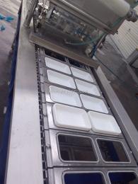 JC-FK片膜封口机桶装方便面自动封口机生产流水线专用