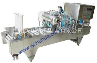 果汁飲料灌裝封口機(圓桶)-灌裝封口機廠家-滬華機械