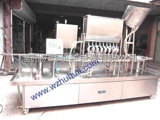 PG系列矿泉水饮料灌装旋盖封口机--沪华机械