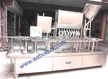 BG60-4礦泉水飲料灌裝旋蓋封口機-滬華機械