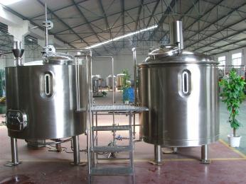 100L自酿啤酒设备酒店自酿啤酒设备