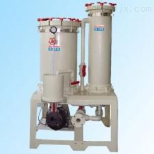 GKD苏州塑宝双塔自吸式化学药液过滤机