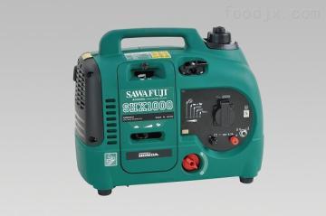 泽藤本田shx1000 900W 数码变频汽油发电机